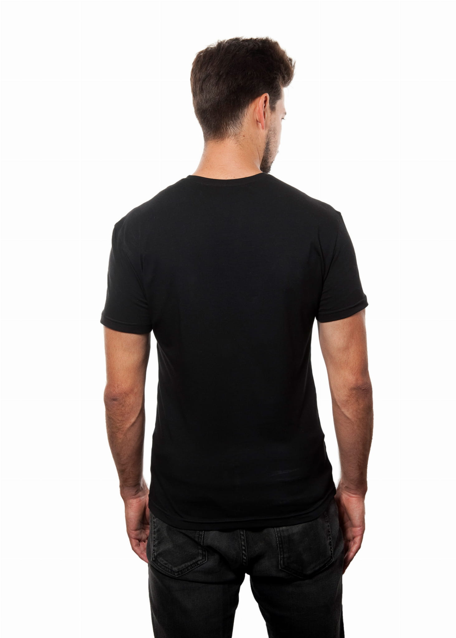 T-shirt Mr Basic Black
