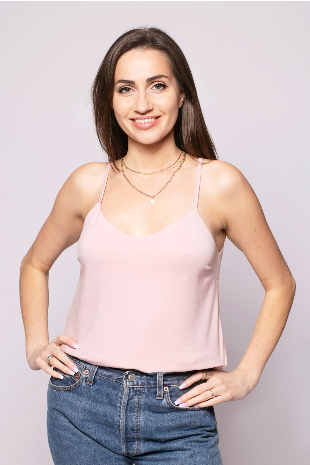 Top Miss Simple Dusty Pink