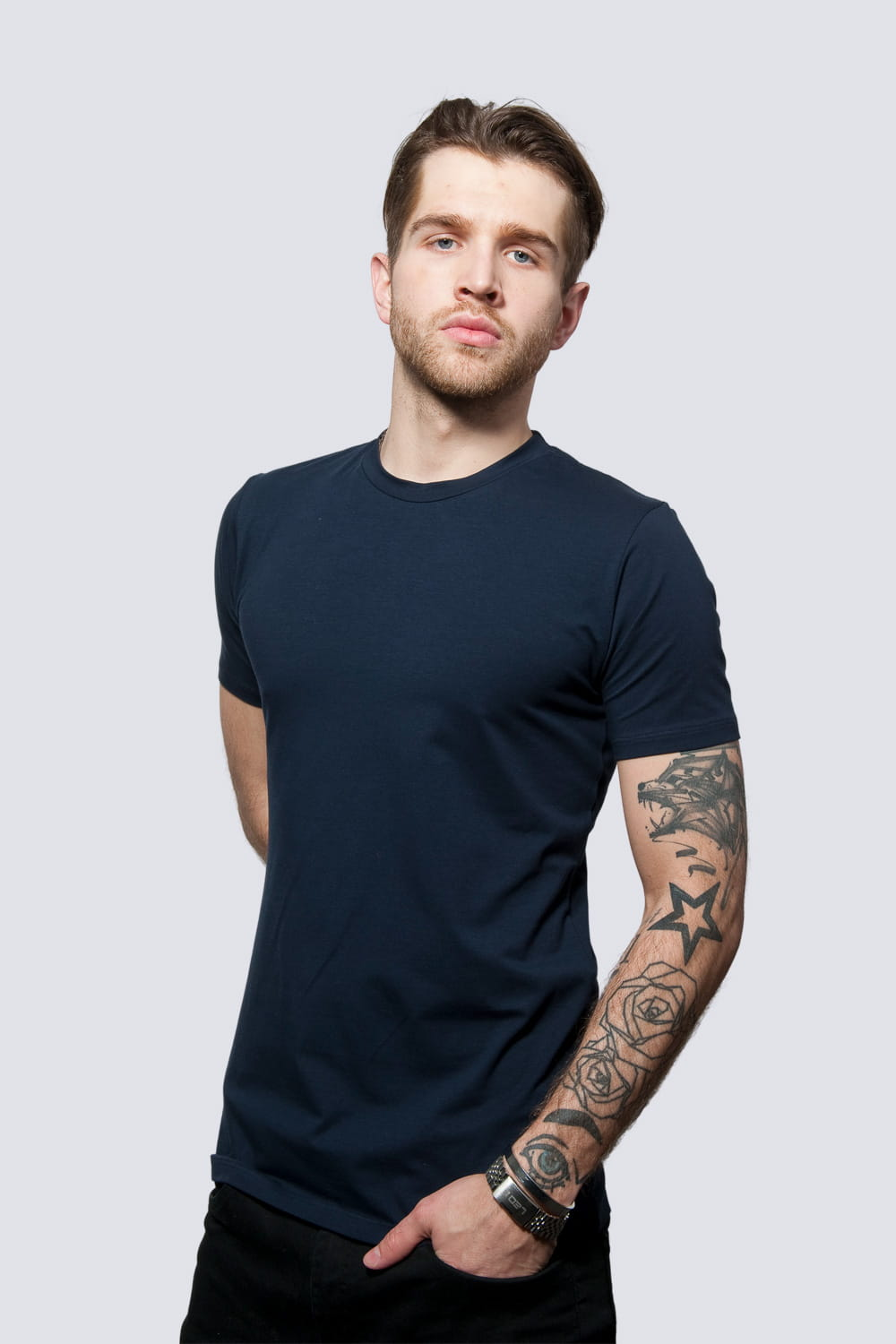 T-shirt Mr Classic Navy